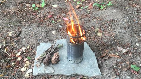 How To Make A Tin Can Wood Gas Backpacking Stove
