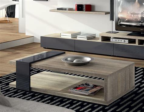 table basse contemporaine table basse contemporaine chene gris