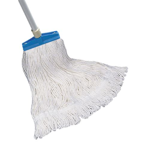 wax mops screw n go looped end wet mop unoclean