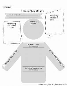 Character Chart  Free Printable