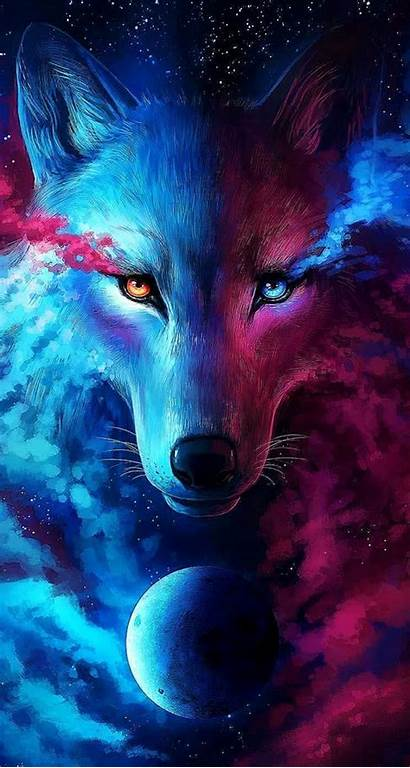 Wolf Galaxy Wallpapers