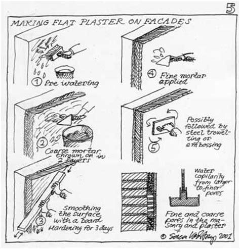 plaster architecture project essay