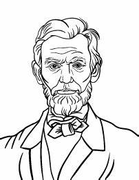 abraham lincoln free coloring pages on art coloring pages With lincoln flower car