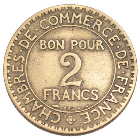 chambre de commerce de telephone monnaies modernes iiième république 2 francs chambre de