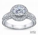 Halo Diamond Engagement Ring | Robbins Brothers Engagement ...