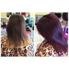 violet red hair color kenra color vr violet booster