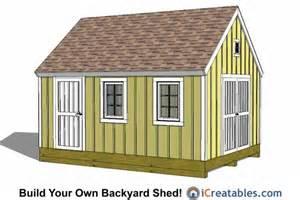wood 12x16 shed plans free pdf plans