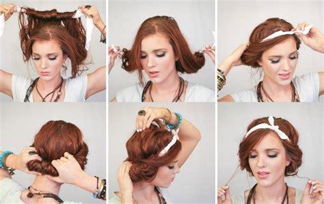 coiffure vintage  faire soi meme sublimez votre