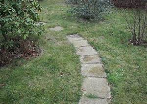 Gartenwege Aus Kies : geschwungener plattenweg ~ Sanjose-hotels-ca.com Haus und Dekorationen