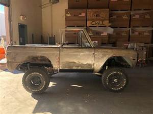 Early Ford Bronco Project For Sale