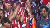 atleti camp nou ovation - YouTube