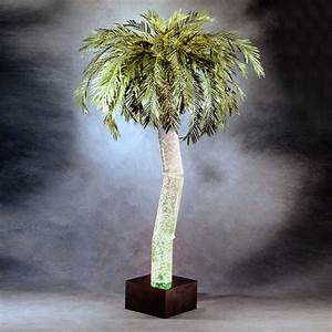 Midwest tropical ap 5m aqua palm indoor bubbling palm tree for Indoor tree floor lamp