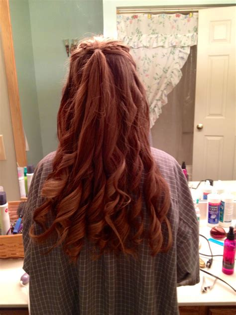 semi formal   hairstyle style hair styles long