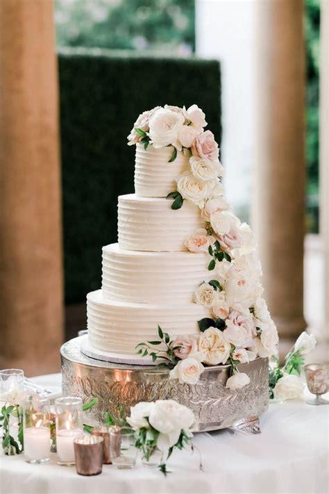 top  gorgeous neutral wedding cakes  wow