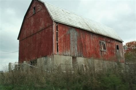 The Old Red Barn By Serpentia-studios On Deviantart