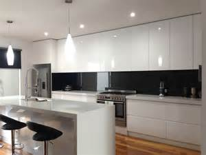 open kitchen cabinets ideas the 25 best black splashback ideas on modern