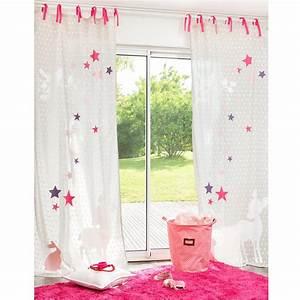 rideaux chambre bebe fille inspirations et rideau enfant With rideaux de chambre de fille