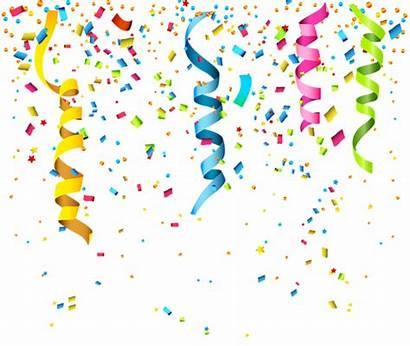 Confetti Transparent Clipart Birthday Happy Yopriceville