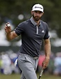 Top-ranked Dustin Johnson leads by 4 strokes halfway ...