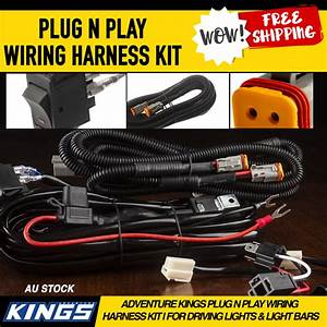 Adventure Kings Plug N Play Wiring Harness Kit For Driving