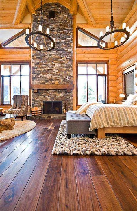inspiring rustic bedroom designs   winter