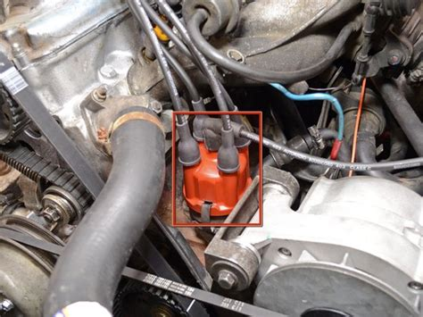 volvo  distributor rotor replacement