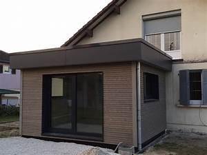 Extension Maison Bois Kit : myotte duquet architecture bois maison 4 pans gilley maison in ~ Melissatoandfro.com Idées de Décoration