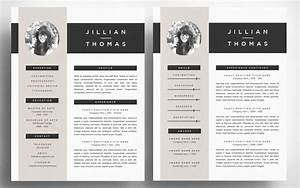 50 best cv resume templates of 2018 design shack With cv template illustrator