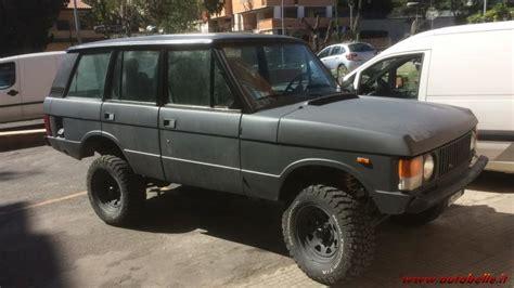 vendo vendo range rover  serie   carb