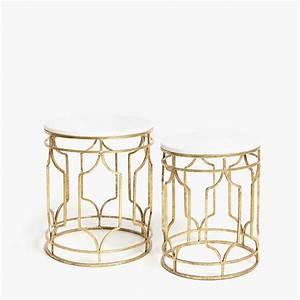 Table Gigogne Marbre : table gigogne ronde tables gigognes le produit et pieds ~ Teatrodelosmanantiales.com Idées de Décoration