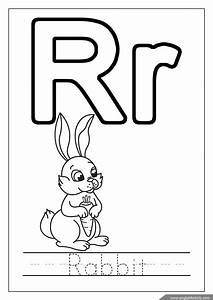 Alphabet Coloring Pages  Letters One One Thousand