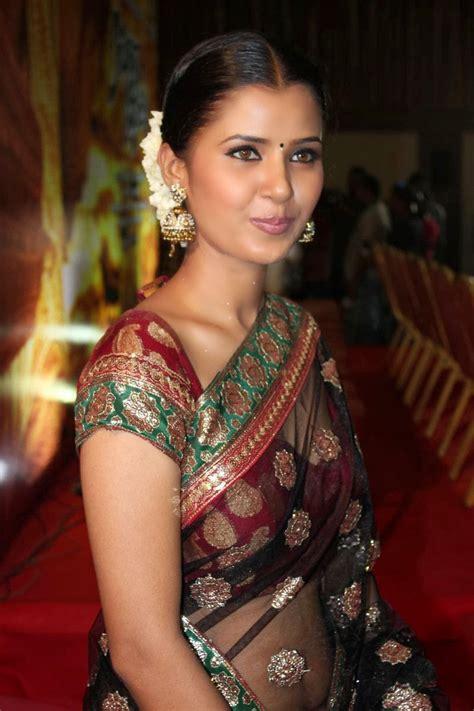 actress jennifer navel jennifer latest hot navel show photos in transparent saree