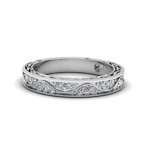 platinum wedding bands and rings fascinating diamonds
