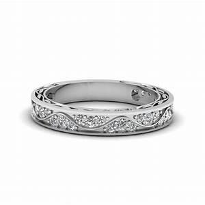Vintage Looking Pave Diamond Ring   Fascinating Diamonds