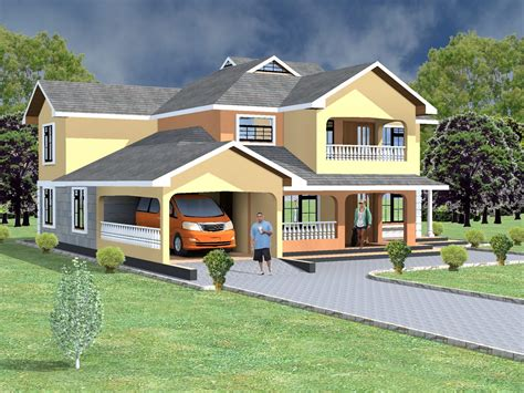 maisonette house plans  bedroom  kenya hpd consult