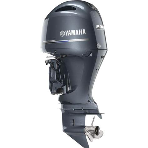 Yamaha Boat Motors Four Stroke by Yamaha 200 Hp Outboard Motor Inline Four Four Stroke