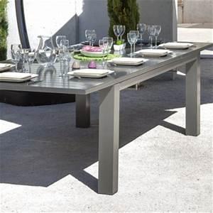 Table Jardin 12 Personnes : table oceo aurore 8 12 personnes ~ Melissatoandfro.com Idées de Décoration