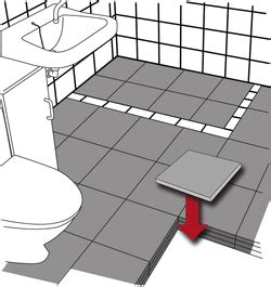 Raising Bathroom Floor Levels
