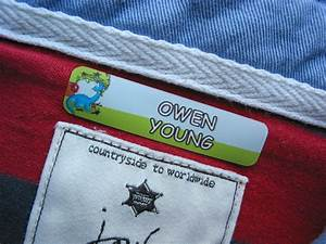 kids name labels durable clothing labels for camp With clothing labels for camp