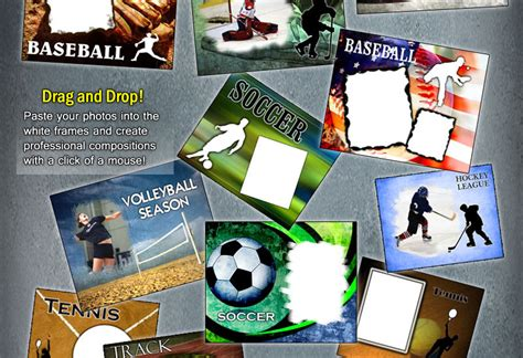 14 Baseball Card Psd Template Images Photoshop Templates 17 Sports Psd Templates For Photographers Images Free