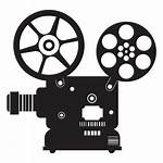 Projector Transparent Icon Flat Film Svg Clipart