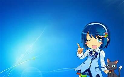 Windows Anime Nanami Madobe Tan Os Microsoft