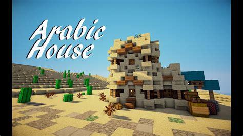 minecraft medieval arabic house tutorial martzert youtube