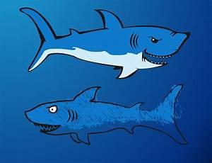Deadly Sharks Vector Art & Graphics | freevector.com