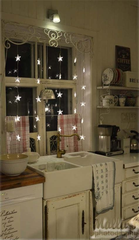 string lights for kitchen 45 inspiring ways to decorate your home with string lights 5905