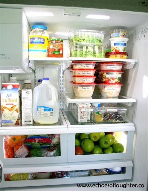 organizing  fridge  healthy fast food  home