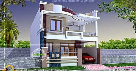 modern indian home design kerala home design  floor plans  houses