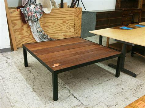 patio table excellent custom built redwood metal steel