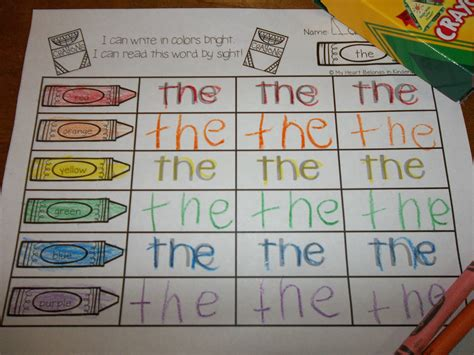 write in color journey into reading with rainbow writing 88 sight words