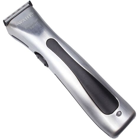 wahl lithium ion beret cordless trimmer handbie
